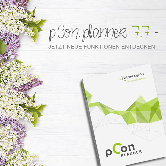Der pCon.planner 7.7 jetzt verfügbar