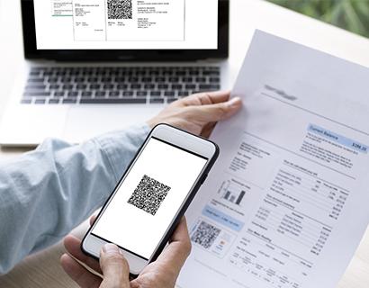 Informationen zur Verarbeitung der QR-Code Rechnungen