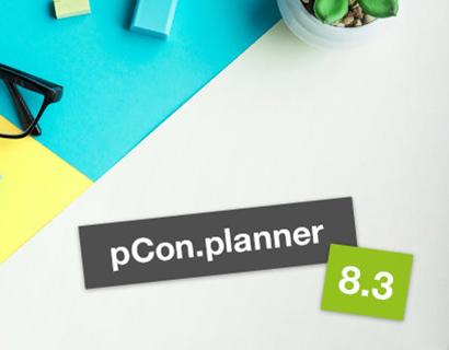 Der pCon.planner 8.3 – Jetzt verfügbar!